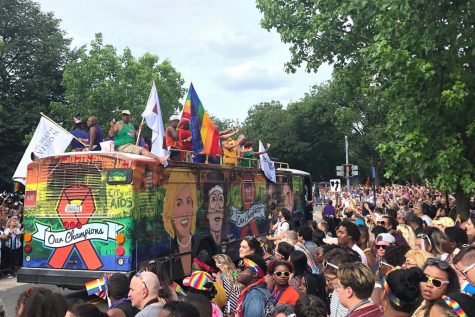 Students celebrate LGBTQ+ community at Capital Pride Parade