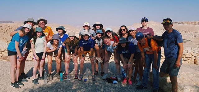 Online+Editor-in-Chief+Dana+Herrnstadt+%28front%2C+third+from+right%29+visits+David+Ben-Gurion%E2%80%99s+tomb+in+Israel+as+part+of+a+three-week+program+for+Jewish+high+school+students.+In+addition+to+serving+as+Israel%E2%80%99s+first+prime+minister%2C+Ben-Gurion+was+known+for+being+able+to+do+a+headstand%E2%80%94a+skill+that+Herrnstadt+does+not+possess.
