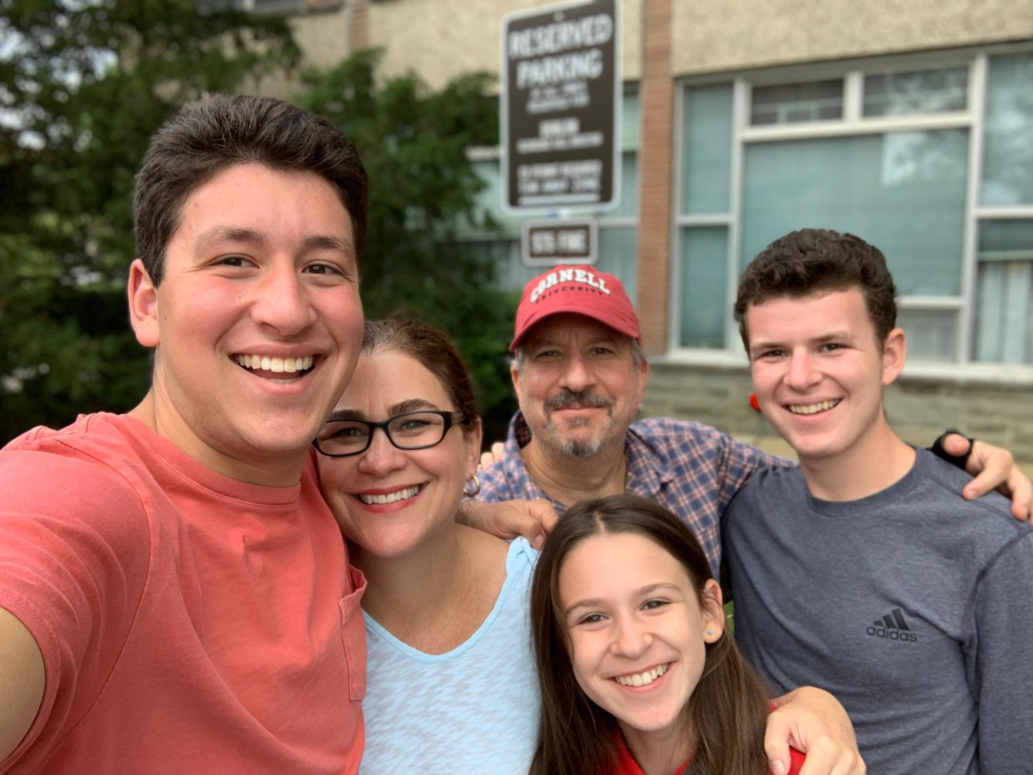 The+Rider+family+drops+off+their+oldest%2C+Bo+at+Cornell+Universty+for+his+orientation.+