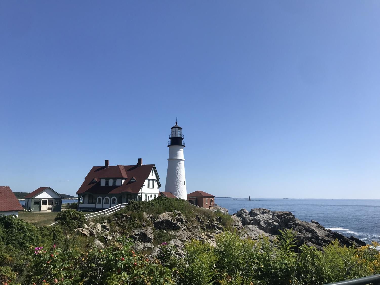 An+image+of+the+Portland+Head+Lighthouse+in+Cape+Elizabeth%2C+Maine.+Junior+Jack+McGuire+visited+the+Portland+Head+Lighthouse%2C+one+of+the+oldest%2C+operable+lighthouses+in+the+U.S%2C+on+his+trip+throughout+the+Northeast+United+States.+