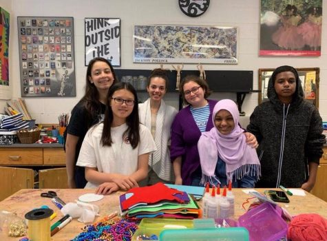 A craft for a smile: Whitman club creates crafts for children battling cancer