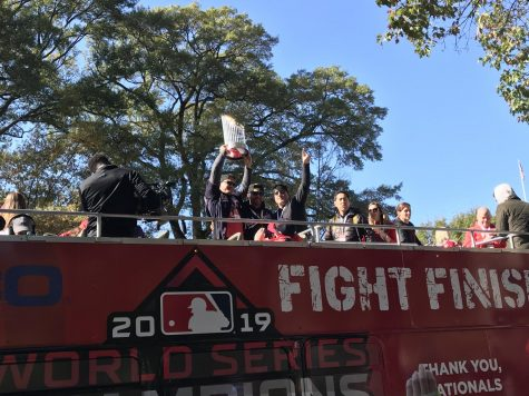 "The Nats were ""never supposed to be here,"" but D.C. celebrated a championship Saturday"
