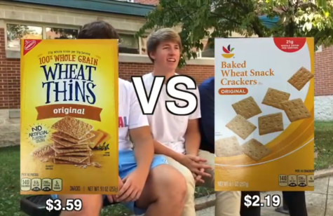 Can students tell the difference between name brand and generic foods?
