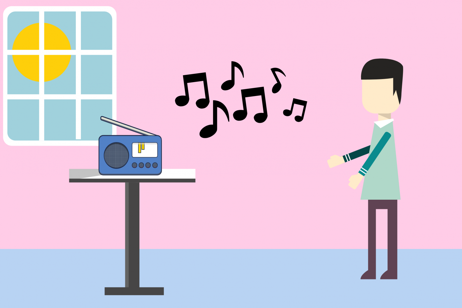 Give radio a chance; it's not old fashioned and provides many benefits, like allowing for multitasking.