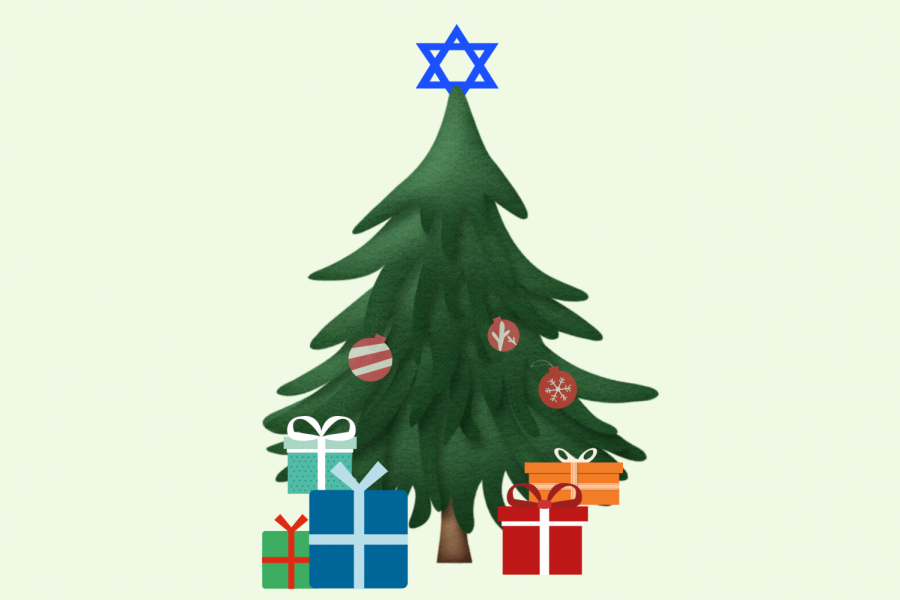 I'm Jewish, but my family and I still celebrate Christmas every year.
