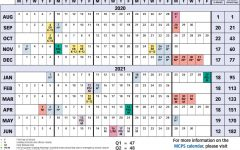 MCPS releases calendar for 2020-2021 school year