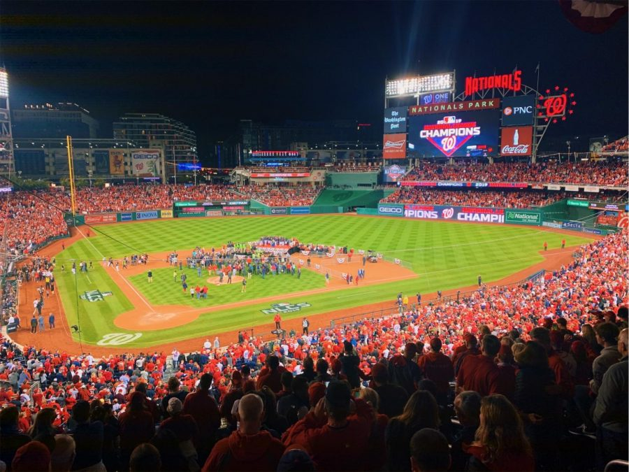 Nationals+Park+on+the+night+the+Nats+won+the+National+League+Championship+over+the+St.+Louis+Cardinals.