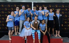 Boys swim and dive captures first state championship in Whitman history