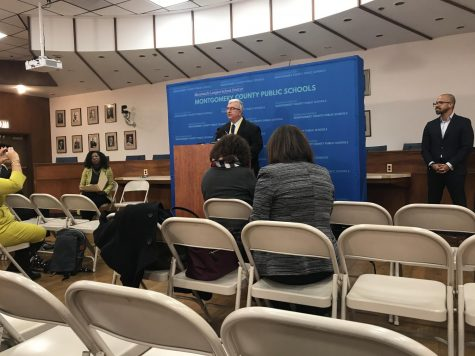 MCPS officials emphasize student health and safety at monthly press conference