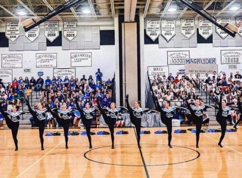 Poms places fifth in annual county competition