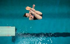 Seniors make their mark on the diving boards