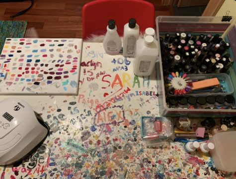 Keeping it polished: Senior Jackie Aronie starts nail art business