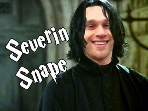 One of the many memes my group members made surrounding group owner, Severin.