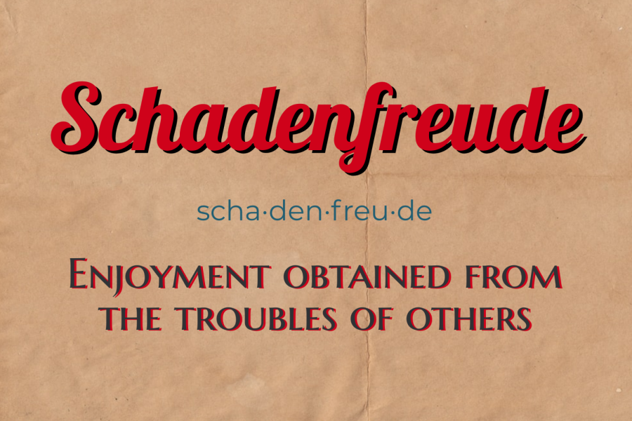 Schadenfreude+is+the+enjoyment+obtained+from+the+troubles+of+others.+During+this+pandemic%2C+it+can+be+dangerous.