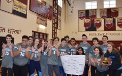 Whitman's bocce team poses for a photo after winning the bocce county championship.