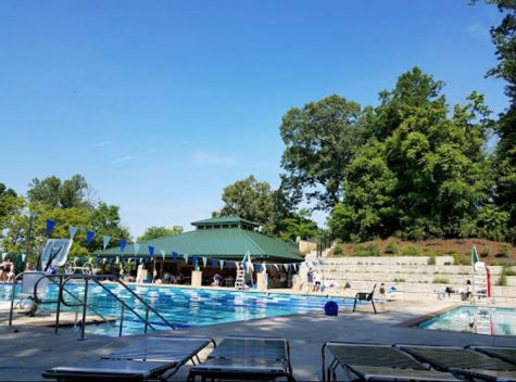Mohican Swim Club sits empty. The COVID-19 pandemic cancelled the annual summer swim and dive season, something many Whitman swimmers look forward too.