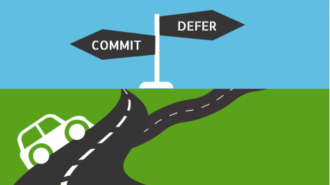 To defer or to commit: seniors have a difficult choice this fall