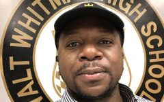 Assistant Principal Joseph Msefya joined Whitman's staff this year. Msefya formerly served as a staff development teacher at Newport Mill Middle School.