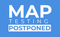Due to technical difficulties, the MAP testing today was postponed.