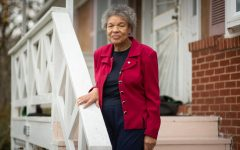Retired State Department employee Patricia Tyson poses at her home in Lyttonsville, the Silver Spring neighborhood where she's lived for other 70 years. Lyttonsville is one of the few communities in the D.C. area to have never had racially restrictive deed covenants, which excluded minority groups from living in parts of Bethesda and other neighborhoods.