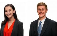 Juniors Hana O'Looney (left) and Henry Kaye (right) are the finalists in this year's SMOB election. Both candidates attend Richard Montgomery High School.