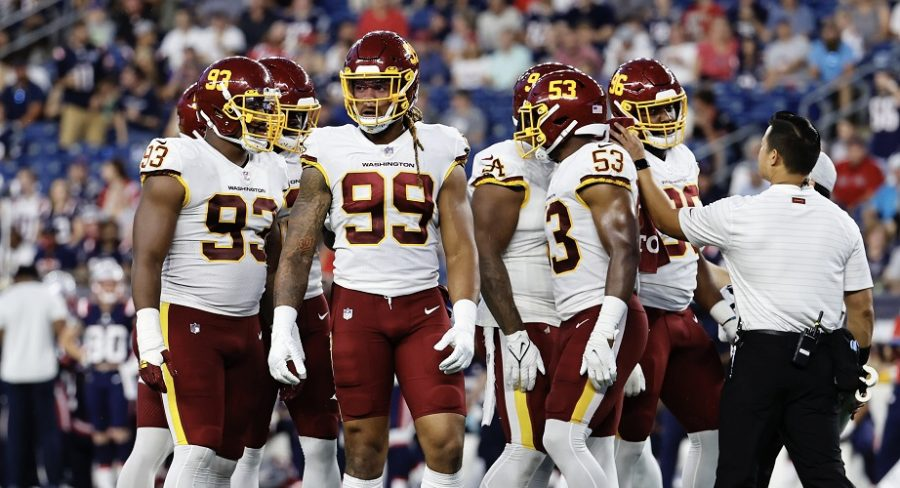 The Washington Football Team looks to follow up their stellar 2020 season with an even better 2021 campaign. (Photo credit: Fred Kfoury, Zuma Press/PA Images)