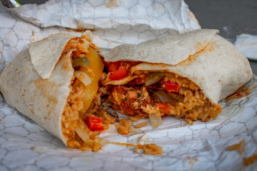 The Black & Whites resident burrito experts were quick to give their California Tortilla order (above) a 1.2/5.