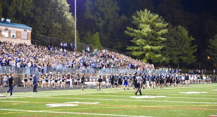 Despite+the+football+teams+defeat%2C+spectators+were+thrilled+to+cheer+on+the+home+team+in+their+first+season+home+opener+in+two+years.