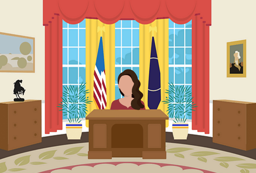 While the show features a Hispanic American woman in the country's most powerful position, 46 out of the 47 actual American presidents have been white males, and during the buzz of the 2016 and 2020 elections, voters questioned the electability of candidates like Kamala Harris simply because of these women's skin color and gender.