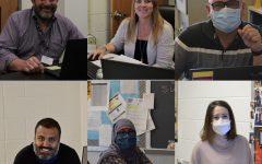 First row: Doug Prouty, Becca Thompson, Richard Obando. Second row: Michael Schweizer, Hala Abdou, Courtney Chick.